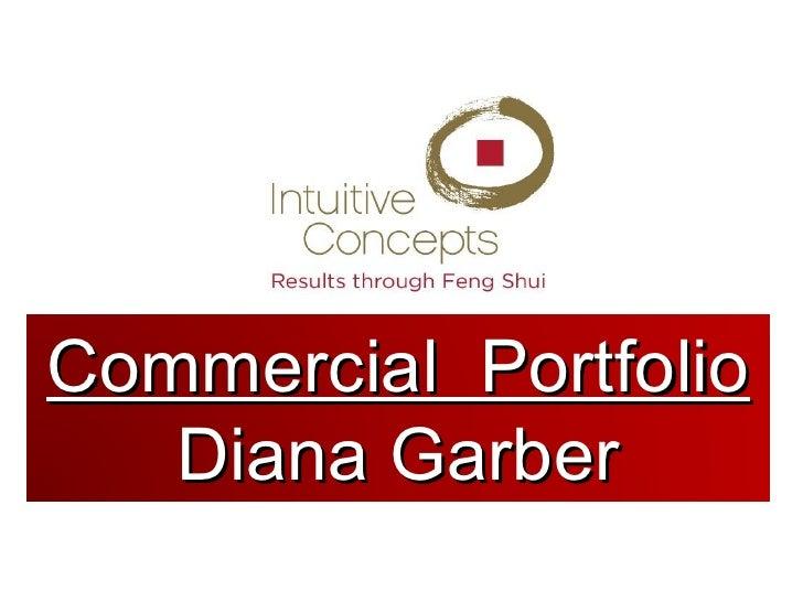 2012 Commercial Portfolio for Intuitive Concepts