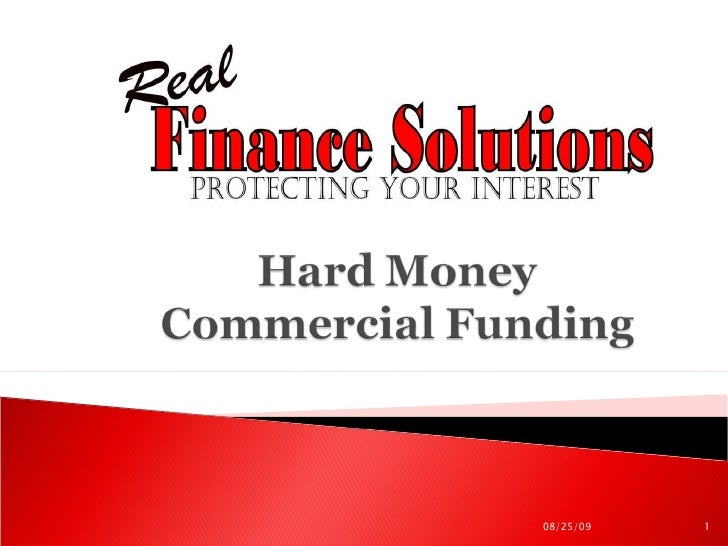 Hard Money Commercial Lending
