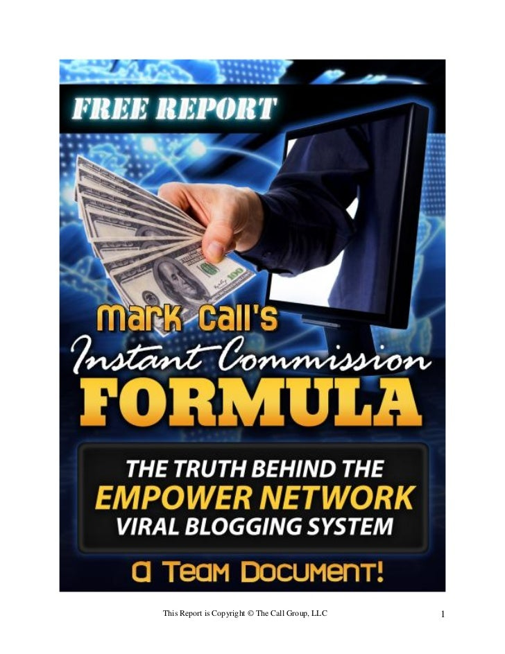This Report is Copyright © The Call Group, LLC   1