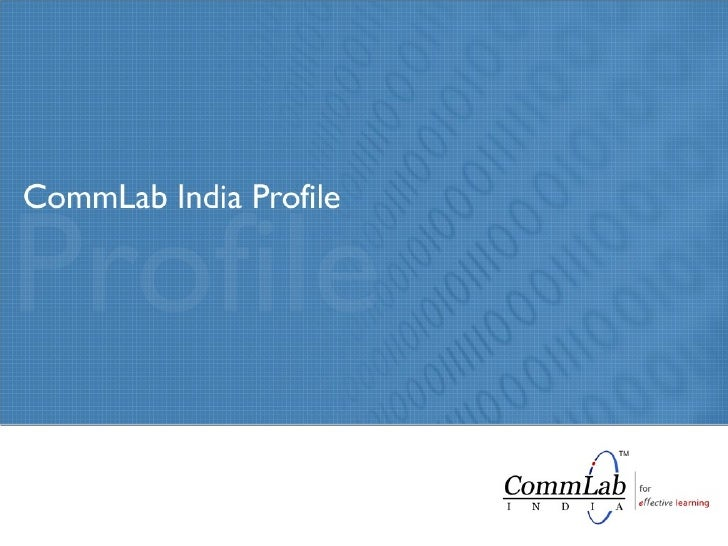 CommLab India Elearning Solutions Company