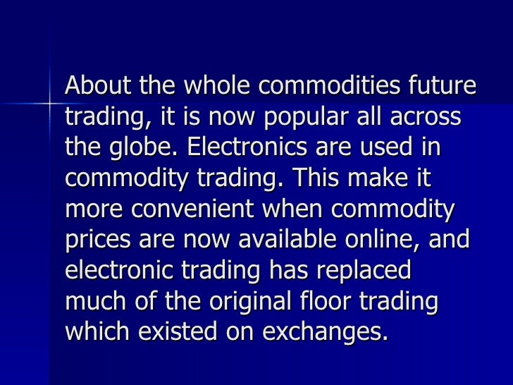 What is future and option trading