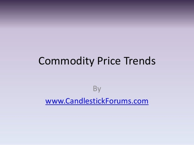 Commodity Price Trends            By www.CandlestickForums.com