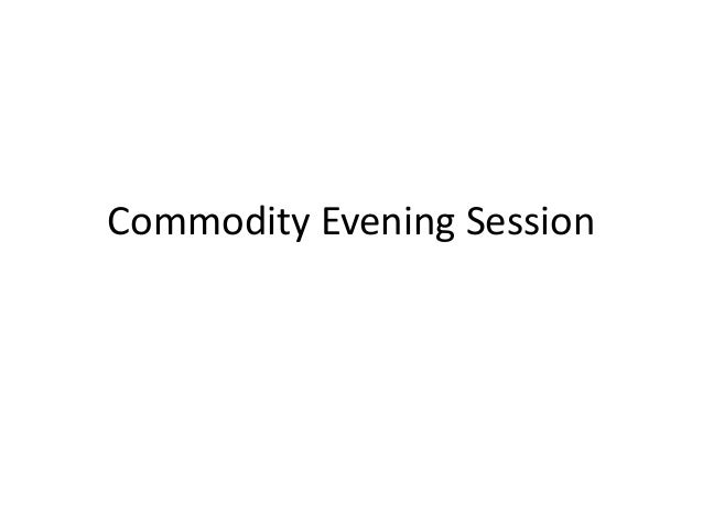 Commodity markets-Updates