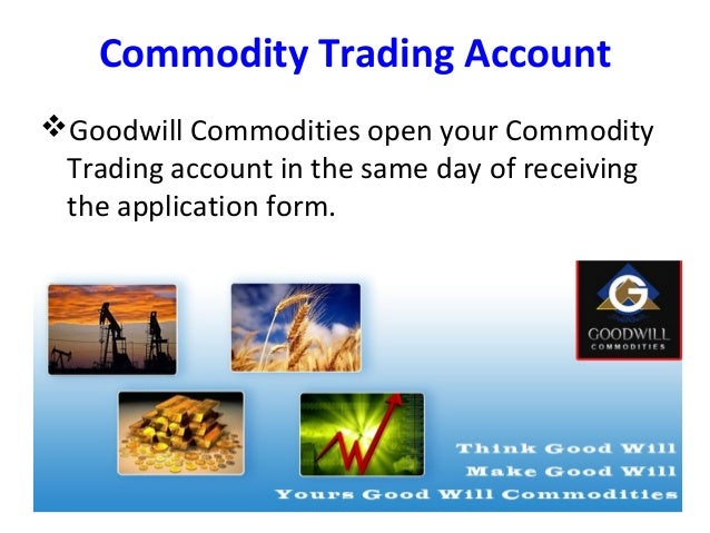 How To Open Commodity Trading Account Online