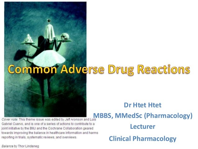 Dr Htet Htet MBBS, MMedSc (Pharmacology) Lecturer Clinical Pharmacology