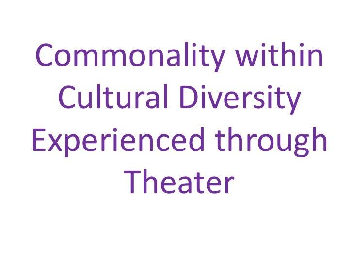 Inspiring Social Justice Through Theater