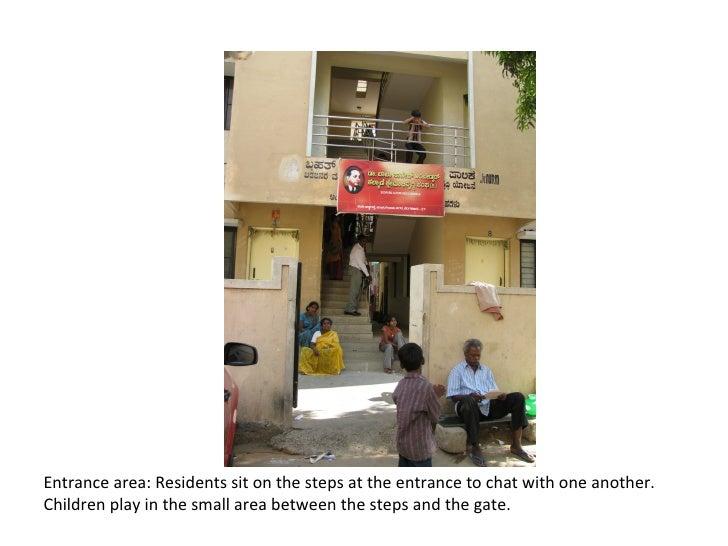 Common areas kalyani slum