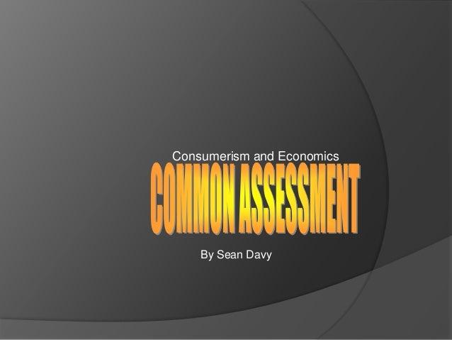 Common assesment