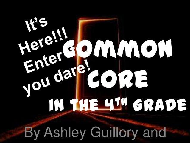 Common core in the 4th grade