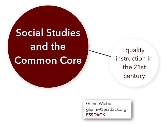 The Social Studies Classroom and the C4 Framework (Grades K-5)