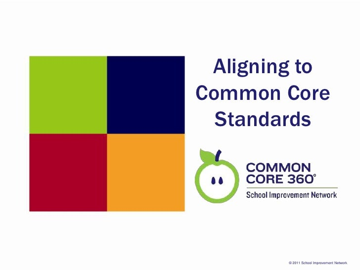 Aligning to Common Core Standards<br />