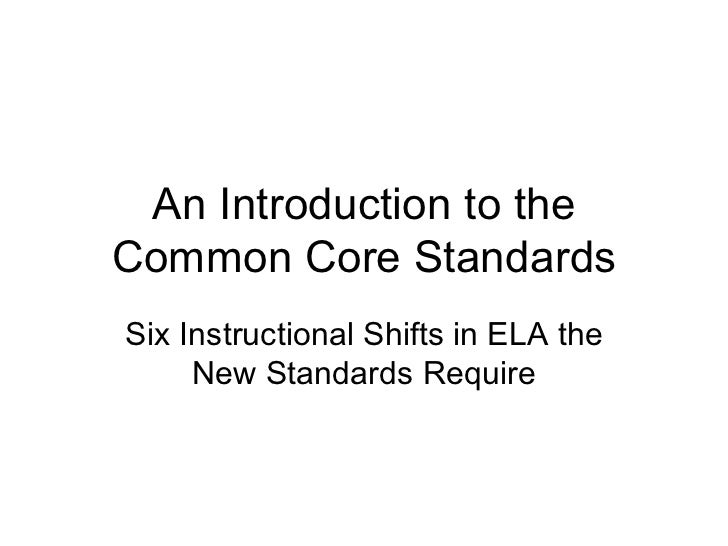 Six Shifts in Our Thinking Required by the Common Core