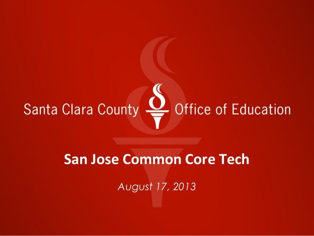 Common core  technology sycd 2013