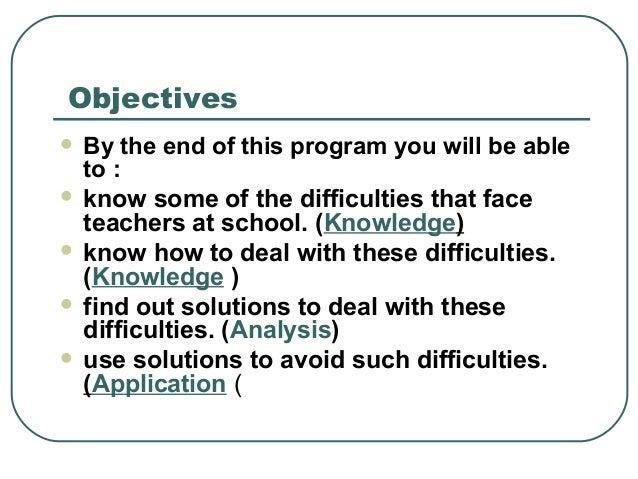 How do teachers teach? Do they follow a program given to them?