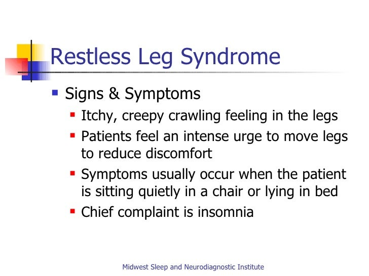 Common disorders in sleep