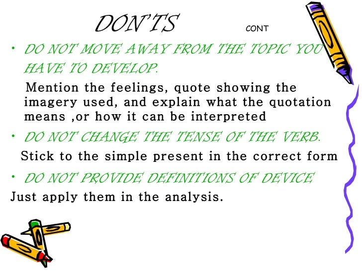 Common errors in english essay writing