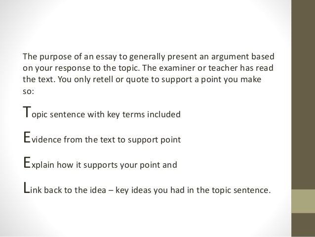 Common essay mistakes