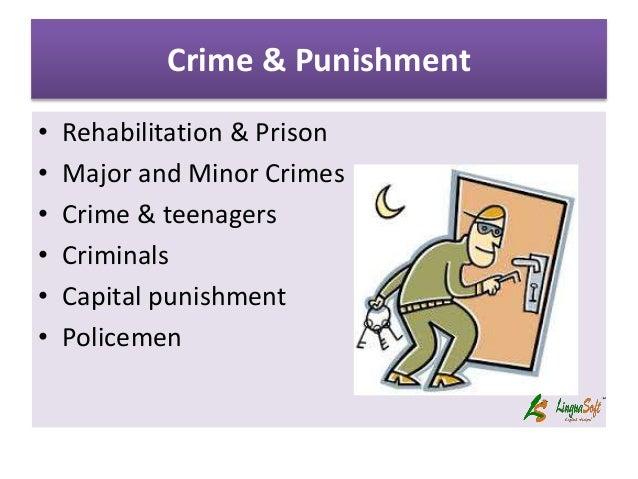 criminal rehabilitation essay