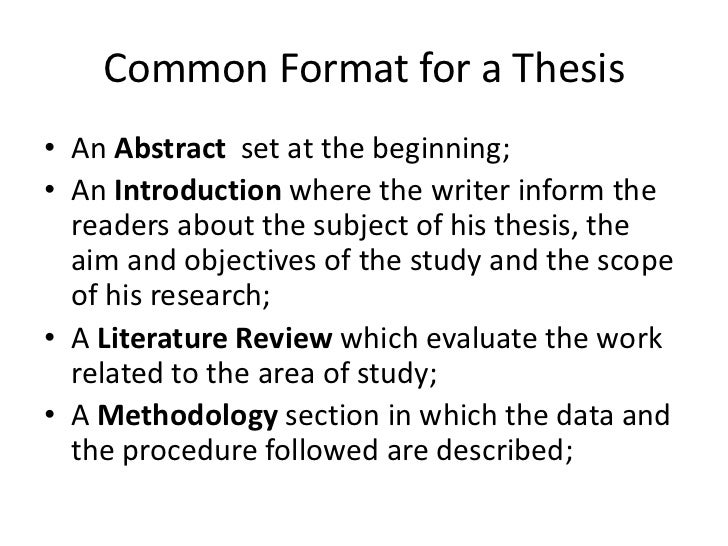 dissertation structures in psychology outline