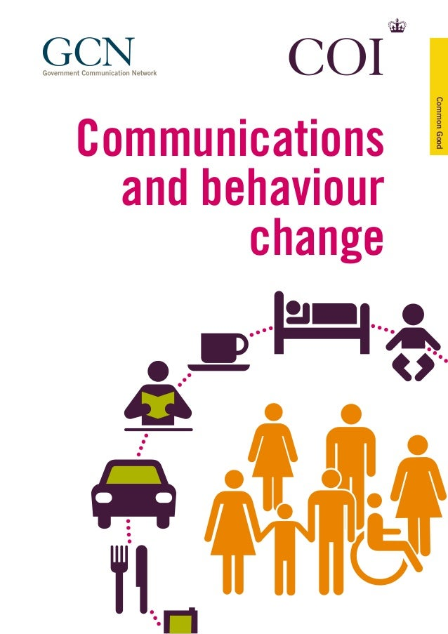 Communications and behaviour change CommonGood