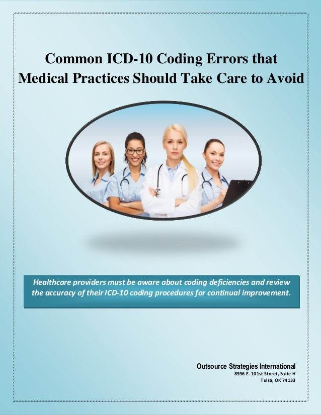 billing and coding errors Coding compliance: practical strategies for success high denial rates or repeated coding or billing errors could increase your risk of being audited make sure overpaid, as well as underpaid, claims are submitted to the fiscal intermediary.