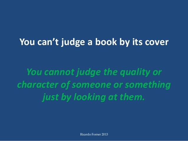 you cannot judge a book by its cover An algorithm has been built to predict a book's genre by its cover sadly for online booksellers, it doesn't do a very good job.