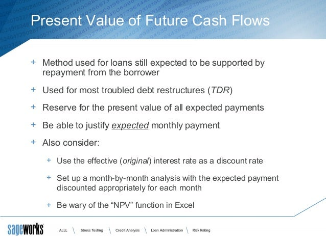 net present value method essay Sample of net present value essay net present value (npv) method discount all the business's cash flows considering the opportunity cost of capital.