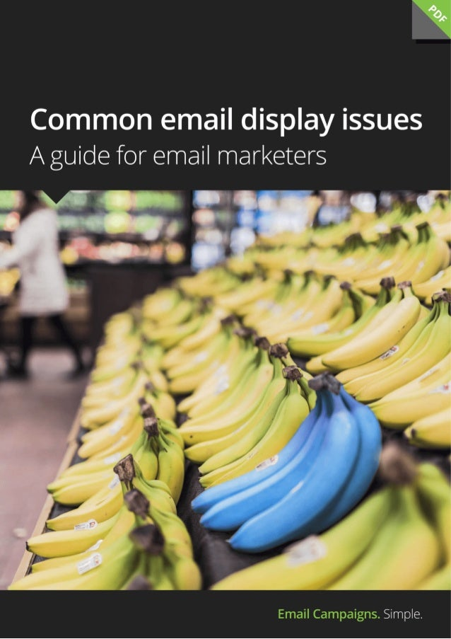 Common email display issues - a guide for email marketers
