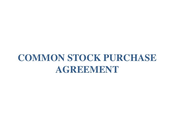 Mon Stock Purchase Agreement With Vesting By Orrick LLP