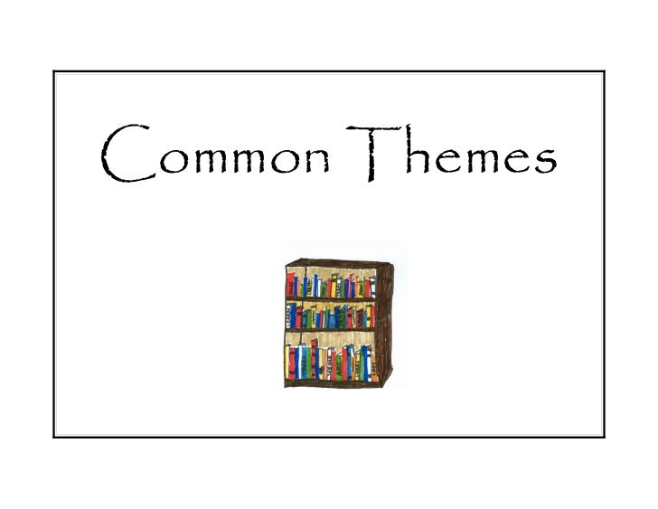 Common themes formatted