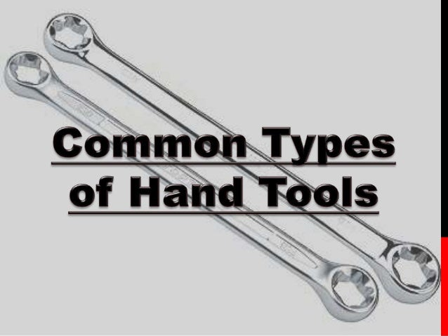Common hand tools in woodworking