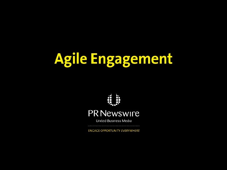 Agile engagement takes advantage of convergencehappening across paid, earned and owned media     PAID                 EARN...