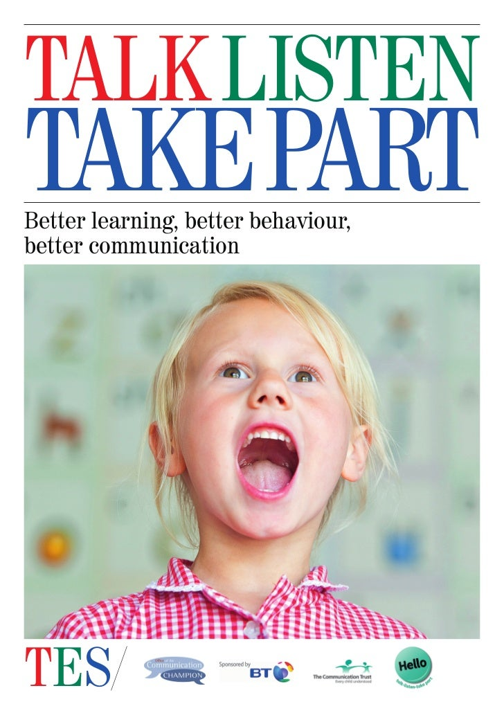 TES and The Communication Trust  Supplement 3 September 2012