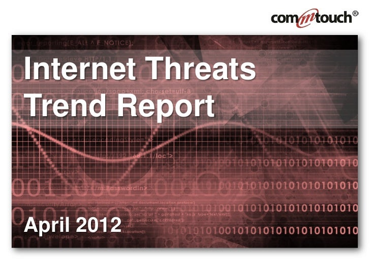 April 2012 Threats Trend Report