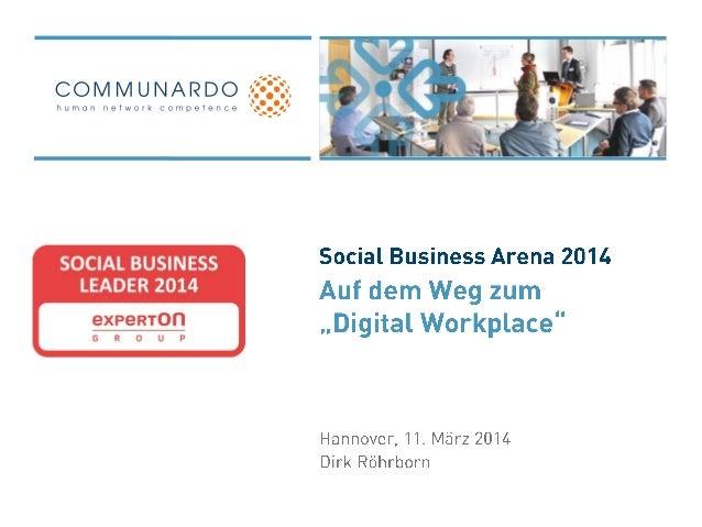 "Auf dem Weg zum ""Digital Workplace"""