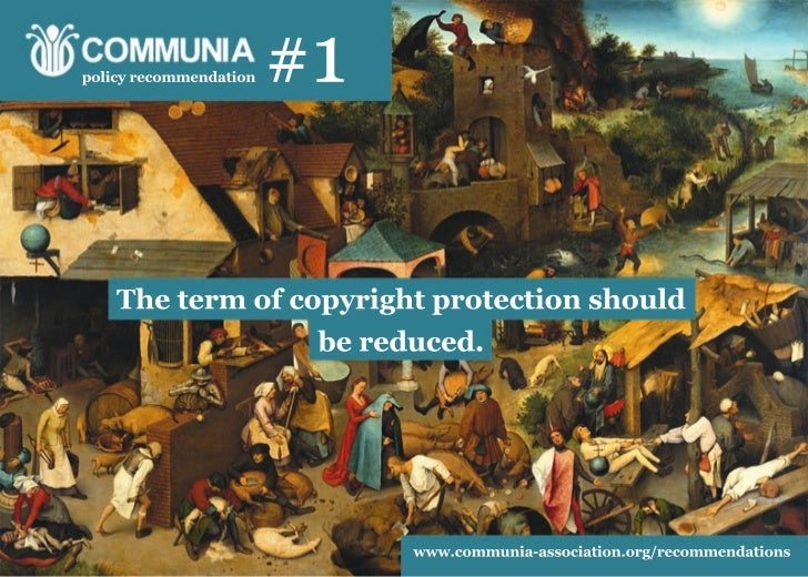 COMMUNIA policy recommendations