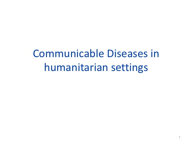 Communicable  diseases hha_2012w.2
