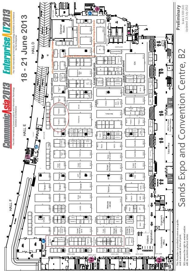 Communic asia2013 floorplan