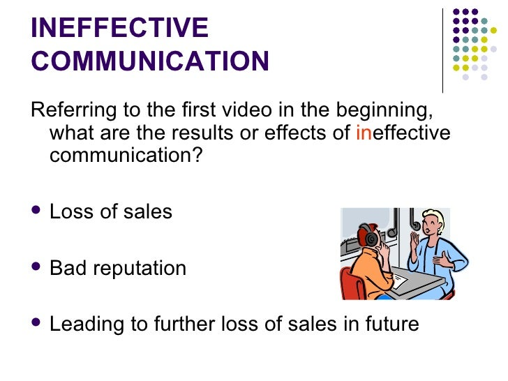 "effects of miscommunication Unfortunately, miscommunication is common – the listener or reader fails to understand what is said or written dale carnegie, author of "" how to make friends and influence people ,"" said, ""90 percent of all management problems are caused by miscommunication""."