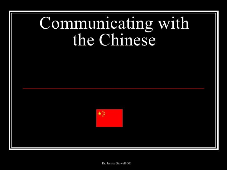 Communicating with the chinese