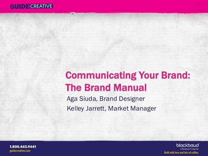 Communicating Your Nonprofit's Brand