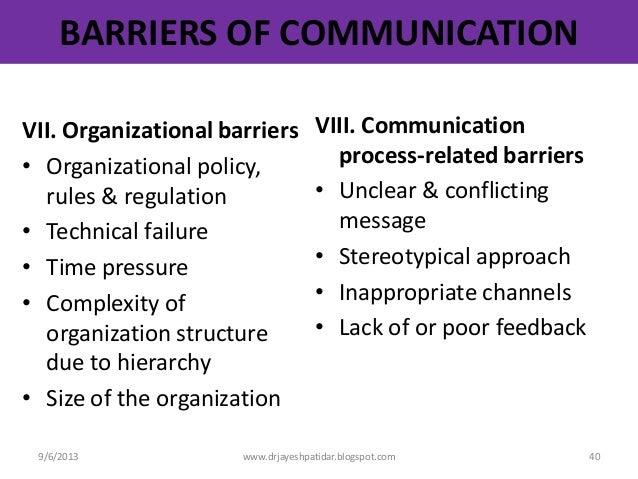 organisational business communication