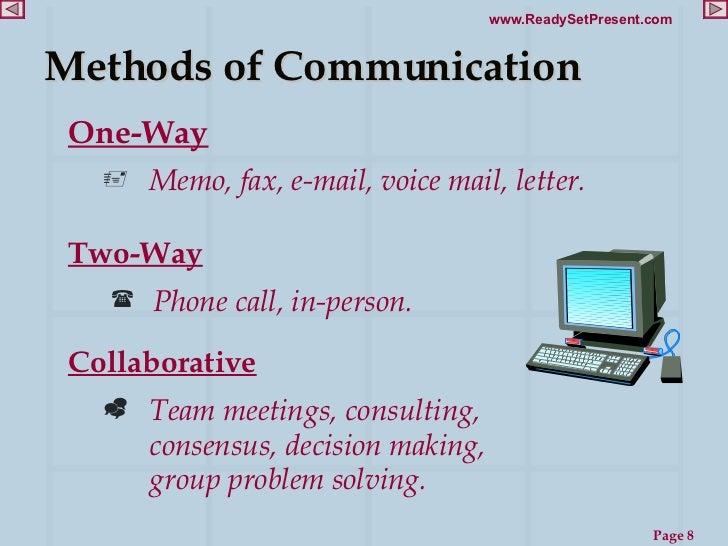 Communication techniques ppt