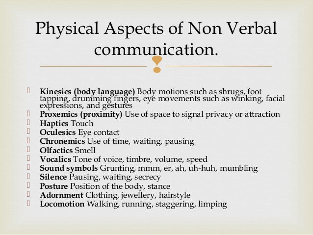 essay verbal and nonverbal communication Non verbal communication introduction non verbal communication is the process of receiving and sending information through wordless messages for.