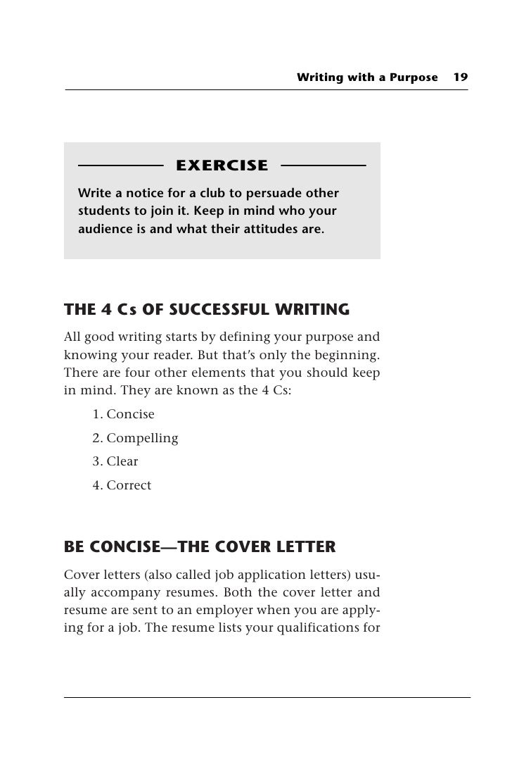Communicate your value in a cover letter