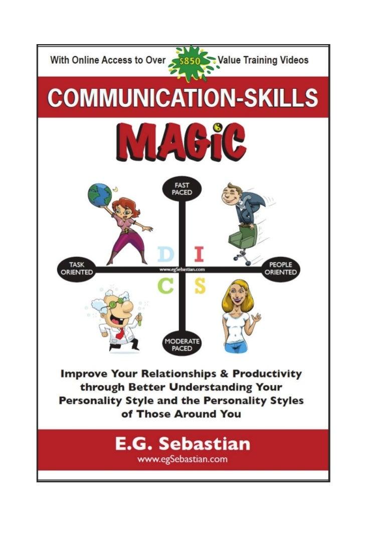Communication skills-magic-e book-freechapters