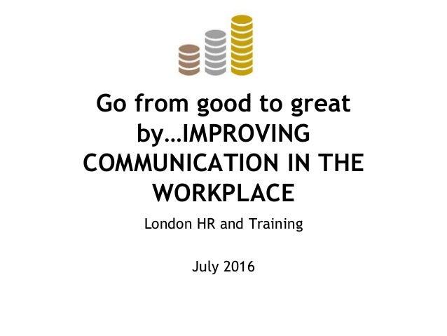 Communication 2016