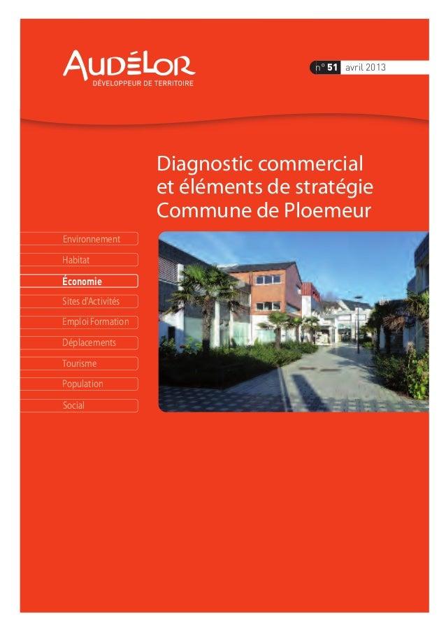Environnement Économie Habitat Sites d'Activités Emploi Formation Déplacements Tourisme Population Social Diagnostic comme...