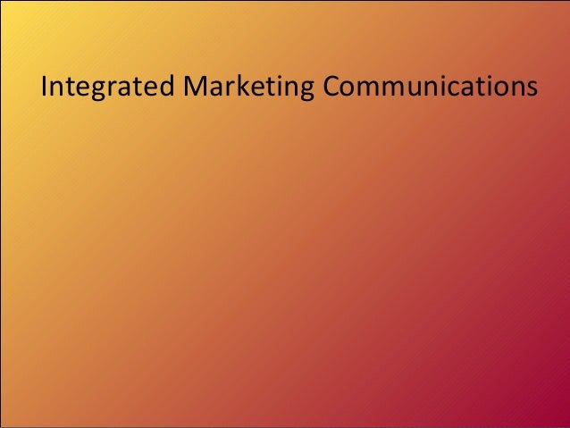 Communication and advertising in marketing