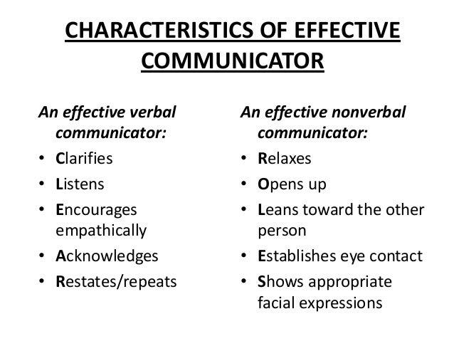 6 characteristics of interpersonal communication
